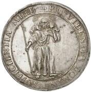 1 thaler Johan Adolf I (Mort) – avers