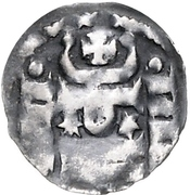 1 Denar - Heinrich der Löwe – avers