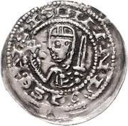 1 Pfennig - Bernhard III. – avers