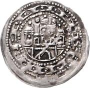 1 Pfennig - Bernhard III. – revers