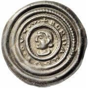 1 Brakteat - Bernhard III. – avers