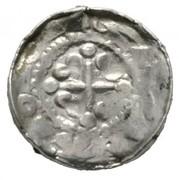 1 denar Heinrich IV – avers