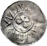 1 Denar - Bernhard I. – revers