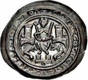 1 Brakteat - Heinrich der Löwe (Bardowick) – avers