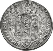 1 Thaler - Johann Georg II. (Gesamttaler) – revers