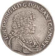 ⅙ Thaler - Johann Georg II. – avers