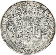 1 Thaler - Johann Georg II. – revers