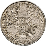 1 Thaler - Johann Georg III. – revers