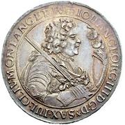 1 Thaler - Johann Georg III. – avers