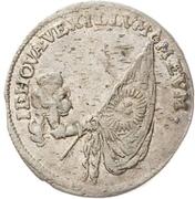 1 Groschen - Johann Georg III. (Death) – revers