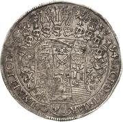 1 Thaler - Johann Georg IV. – revers