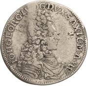 ⅙ Thaler - Johann Georg IV. – avers