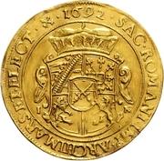 4 Ducat - Johann Georg IV. – revers