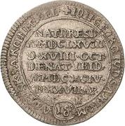 1 Groschen - Johann Georg IV. (Death) – avers