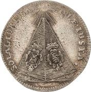 1 Groschen - Johann Georg IV. (Death) – revers