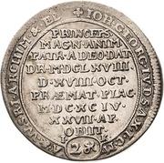 1 Doppelgroschen - Johann Georg IV. (Death) – avers