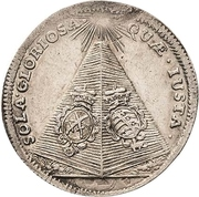 1 Doppelgroschen - Johann Georg IV. (Death) – revers
