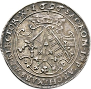 ¼ Thaler - Friedrich August I. – revers