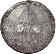 1 Thaler - Johann Georg IV. (Death) – revers