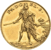 2 Ducat - Friedrich August I. (Campaign against the Ottoman Empire) – avers