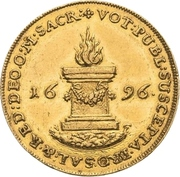 2 Ducat - Friedrich August I. (Campaign against the Ottoman Empire) – revers