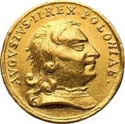 ½ Ducat - Friedrich August I. (Coronation) – avers
