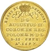 2 Ducat - Friedrich August I. (Coronation) – revers