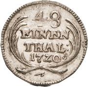 1/48 Thaler - Friedrich August I. – revers