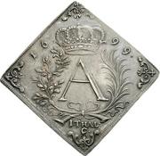 1 Thaler - Friedrich August I. (Klippe; Treaty of Nijmegen) – avers