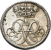 ½ Ducat - Friedrich August I. (Silver pattern strike) – avers