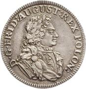 ⅙ Thaler - Friedrich August I. (Cosel-Sechstel) – avers