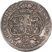 ⅓ Thaler - Friedrich August I. (Cosel-Drittel) – revers