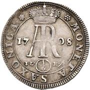 ⅙ Thaler - Friedrich August I. – revers