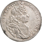 1 Thaler - Friedrich August I. – avers