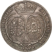 1 Thaler - Friedrich August I. – revers