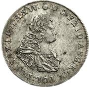 ¼ Thaler - Friedrich August I. – avers