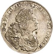 ⅓ Thaler - Friedrich August I. – avers