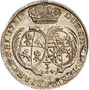 ⅓ Thaler - Friedrich August I. – revers