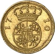 ¼ Ducat - Friedrich August I. – revers