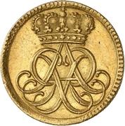½ Ducat - Friedrich August I. – avers