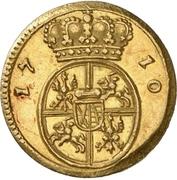 ½ Ducat - Friedrich August I. – revers