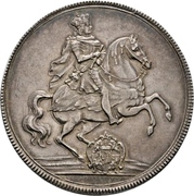 2 Thaler - Friedrich August I. (Vicariat) – avers