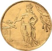 4 Ducat - Friedrich August I. (Vicariat) – avers