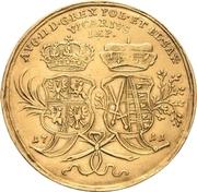 4 Ducat - Friedrich August I. (Vicariat) – revers