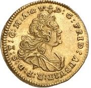 ¼ Ducat - Friedrich August II. (Vicariat) – avers