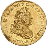 ½ Ducat - Friedrich August II. – avers