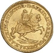 1 Ducat - Friedrich August II. (Vicariat) – avers