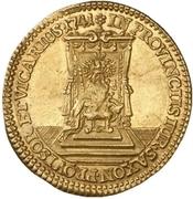 1 Ducat - Friedrich August II. (Vicariat) – revers
