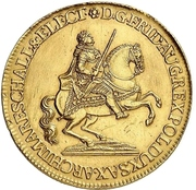 6 Ducat - Friedrich August II. (Vicariat) – avers
