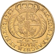 10 Thaler - Friedrich August II. – revers